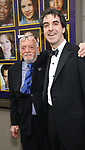 Hal Prince and Jason Robert Brown attends the Broadway Opening Night performance of 'The Prince of Broadway' at the Samuel J. Friedman Theatre on August 24, 2017 in New York City.