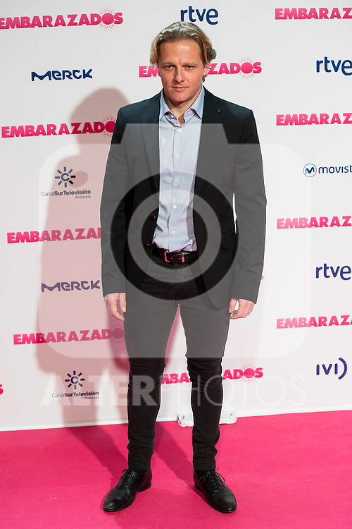 Juan Diaz attends to the premiere of the film &quot;Embarazados&quot; at Capitol Cinemas in Madrid, January 27, 2016.<br /> (ALTERPHOTOS/BorjaB.Hojas)