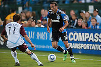 SANTA CLARA, CA--San Jose Earthquakes lose to the Colorado Rapids 1-2 at Buck Shaw Stadium.