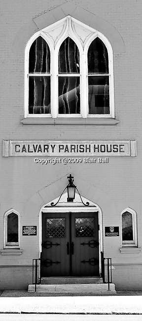 Calvary Parish House photograph downtown Memphis.