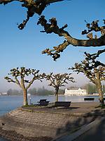 Blick auf Hotel Steigenberger, Uferpromenade von Konstanz, Baden-W&uuml;rttemberg, Deutschland, Europa<br /> Hotel Steigenberger, seen from lakeside promenade, Constance, Baden-W&uuml;rttemberg, Germany, Europe