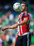 18-07-2015, Groningen.<br /> Groningen vs Southampton FC   Southampton's Graziano Pelle. action<br /> photo Michael Kooren, utrecht, the Netherlands