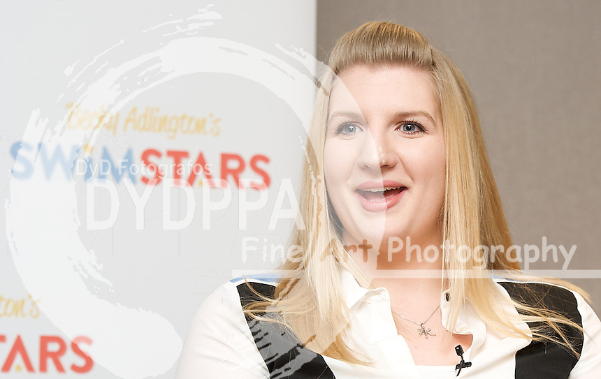 Rebecca Adlington, Press Conference,  St James, London, Great Britain, February 5, 2013. Photo by Elliott Franks / i-Images/ DyD Fotografos