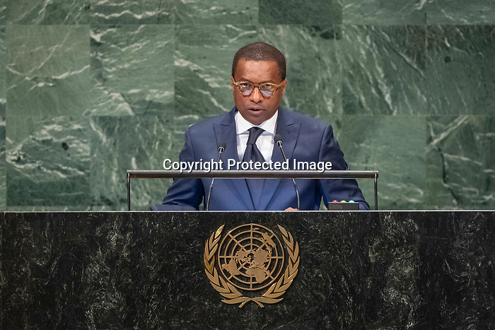 General Assembly: 16th meeting<br /> <br /> <br /> His Excellency Jean-Claude FELIX DO REGO Chair of Delegation of Benin