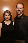 Irene Sankoff and David Hein attends the Theatre Forward Broadway Roundtable on February 2, 2018  at UBS in New York City.