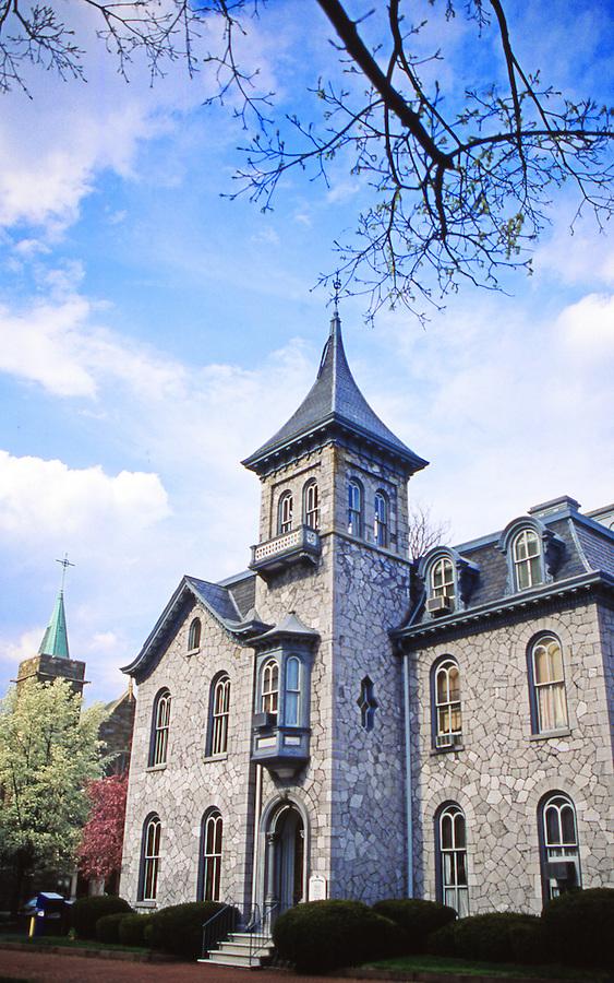 J. Donald Cameron Mansion, Harrisburg, Pennsylvania, stone mansions, Riverfront