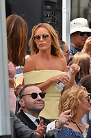 LOS ANGELES, CA. August 22, 2018: Amanda Holden at the Hollywood Walk of Fame Star Ceremony honoring Simon Cowell.