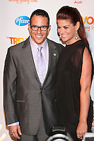 Debra Messing and Michael Mayer at TREVOR LIVE! An irreverent evening of music and comedy to benefit The Trevor Project, honoring Susan Sarandon and MTV in  New York City. June 25, 2012 © Diego Corredor/MediaPunch Inc. *NORTEPHOTO* **SOLO*VENTA*EN*MEXICO** **CREDITO*OBLIGATORIO** **No*Venta*A*Terceros** **No*Sale*So*third** *** No*Se*Permite Hacer Archivo** **No*Sale*So*third** *Para*más*información:*email*NortePhoto@gmail.com*web*NortePhoto.com*