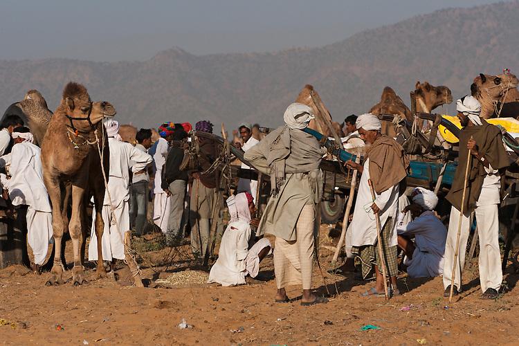 Rajastani people at Pushkar Camel Fair
