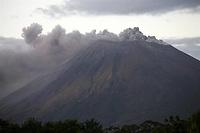 El volcán San Cristóbal, ubicado en Chinandega, a 135 kilómetros al noroeste de Managua (Nicaragua). EFE