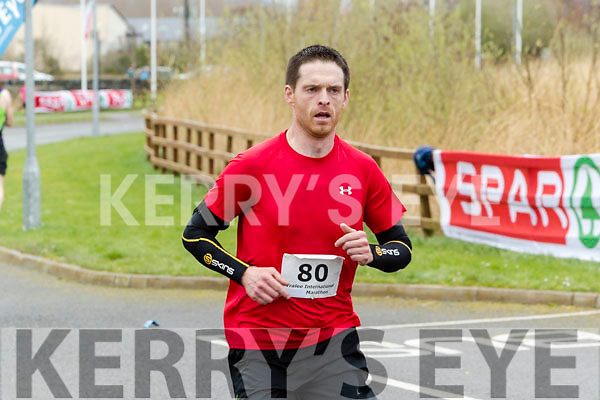 Tom Foley runners in the Tralee International Marathon series in Tralee on Saturday.