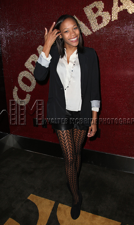 "Nikki M. James.attending the Michael Musto - 'Fork On The Left, Knife in the Back""  Book Release Party at the Copacabana in New York City."