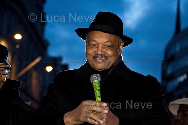 Reverend Jesse Jackson - 2011<br />