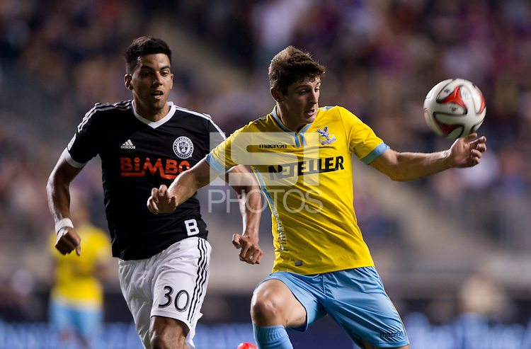 Chester, PA - July 25, 2014: Crystal Palace defeated the Philadelphia Union 1-0 during an friendly at PPL Park