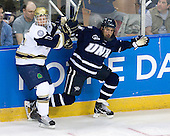 Billy Maday (Notre Dame - 17), Phil DeSimone (UNH - 39) - The University of Notre Dame Fighting Irish defeated the University of New Hampshire Wildcats 2-1 in the NCAA Northeast Regional Final on Sunday, March 27, 2011, at Verizon Wireless Arena in Manchester, New Hampshire.