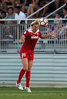 Boyds, MD. - Saturday, June 24 2017:  Kassey Kallman during a regular season National Women's Soccer League (NWSL) match between the Washington Spirit and the Portland Thorns FC at Maureen Hendricks Field, Maryland SoccerPlex.<br />  The Washington Spirit defeated the Portland Thorns FC 1-0.
