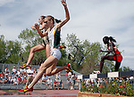 May 18, 2008 - Boulder, CO.   Women's 3000m Steeplechase action during the 2008 Big 12 Conference Track & Field Championships.  ...Larry Clouse/CSM
