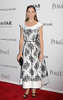 Hilary Swank in a black and white lace tea dress by Marc Jacobs attending amfAR's third annual Inspiration Gala at the New York Public Library in New York, 07.06.2012..Credit: Rolf Mueller/face to face /MediaPunch Inc. ***FOR USA ONLY***