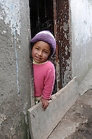 Child living in poverty and happy. From an assignment for NGO 'Children International' in Quito, Ecuador 2010.