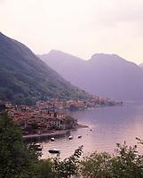 ITA, Italien, Lombardei, Lézzeno Pescau suedlich von Bellagio am Comer See   ITA, Italy, Lombardia, Lézzeno Pescau south of Bellagio at Lake Como