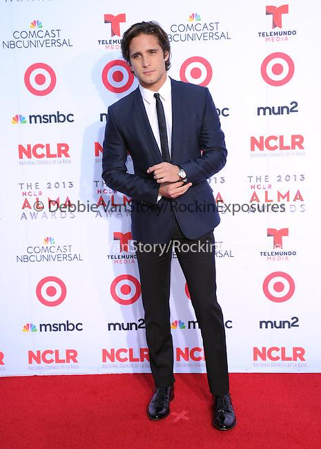 Diego Boneta <br /> <br />  attends The 2013 NCLR ALMA Awards held at the Pasadena Civic Auditorium in Pasadena, California on September 27,2012                                                                               © 2013 DVS / Hollywood Press Agency
