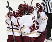 - The Boston College Eagles defeated the University of Vermont Catamounts 7-4 on Saturday, March 11, 2017, at Kelley Rink to sweep their Hockey East quarterfinal series.The Boston College Eagles defeated the University of Vermont Catamounts 7-4 on Saturday, March 11, 2017, at Kelley Rink to sweep their Hockey East quarterfinal series.