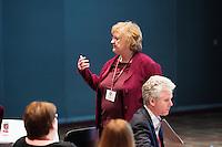 SEC Academic Leadership Development Program (SEC ALDP): &quot;Shared Governance&quot; - presenter Julia Hodges, MSU Executive Associate Vice President for Academic Affairs.<br />  (photo by Megan Bean / &copy; Mississippi State University)