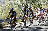 Sergio Luis Henao, Christopher Froome , Alberto Contador and Joaquin Purito Rodriguez leading during the stage of La Vuelta 2012 between Barakaldo and Valdezcaray.August 21,2012. (ALTERPHOTOS/Paola Otero) /NortePhoto.com