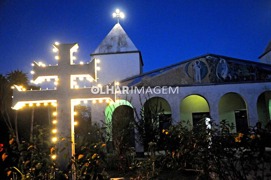Igreja do Santo Daime. Rio Branco. Acre. 2008. Foto Zaida Siqueira.