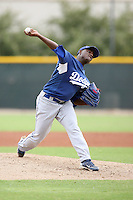 Rubby De La Rosa - Los Angeles Dodgers - 2010 Instructional League.Photo by:  Bill Mitchell/Four Seam Images..