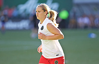 Portland, OR - Saturday May 27, 2017: Lindsey Horan during a regular season National Women's Soccer League (NWSL) match between the Portland Thorns FC and the Boston Breakers at Providence Park.