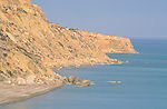 Pissouri Beach, Cliffs, Cyprus. Zypern.