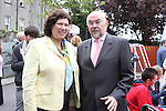 Penny O'Connell from Meath Childrens Disability Services with Ruairi Quinn TD Minister for Education and Skills as he officially opens ABACAS School on Fair Street...(Photo credit should read Jenny Matthews www.newsfile.ie)....This Picture has been sent you under the conditions enclosed by:.Newsfile Ltd..The Studio,.Millmount Abbey,.Drogheda,.Co Meath..Ireland..Tel: +353(0)41-9871240.Fax: +353(0)41-9871260.GSM: +353(0)86-2500958.email: pictures@newsfile.ie.www.newsfile.ie.
