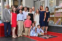 LOS ANGELES, CA. August 20, 2018: Jennifer Garner, William John Garner, Patricia Ann Garner, Susannah Kay Garner Carpenter, Melissa Garner Wylie & Family at the Hollywood Walk of Fame Star Ceremony honoring actress Jennifer Garner.