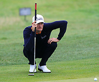 Sebastian Heisele (GER) on the 8th green during Round 2 of the Bridgestone Challenge 2017 at the Luton Hoo Hotel Golf &amp; Spa, Luton, Bedfordshire, England. 08/09/2017<br /> Picture: Golffile | Thos Caffrey<br /> <br /> <br /> All photo usage must carry mandatory copyright credit     (&copy; Golffile | Thos Caffrey)