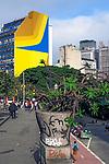 Rua Xavier de Toledo, Sao Paulo, 2018. Foto de Juca Martins.