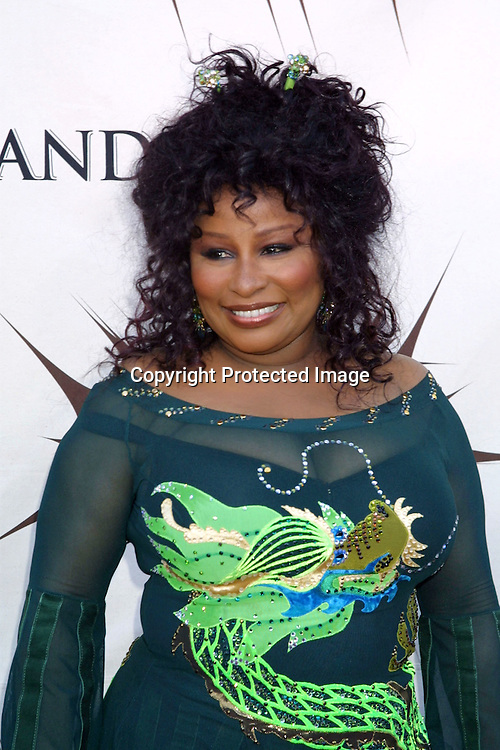 "©2003 KATHY HUTCHINS / HUTCHINS PHOTO."" VH1 DIVAS DUETS"".MGM GRAND LAS VEGAS , NEVADA  MAY 22, 2003.CHAKA KAHN"