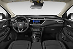 Stock photo of straight dashboard view of a 2020 Buick Encore GX Select 5 Door SUV