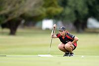 Zahraa Bester, Waikato, 2019 New Zealand Women's Interprovincials, Maraenui Golf Club, Napier, Hawke's Bay, New Zealand, Tuesday 03rd December, 2019. Photo: Sarah Lord/www.bwmedia.co.nz