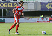 20190626 - OUDENAARDE , BELGIUM : Mouscron's (5) Rijad Sadiku pictured during a friendly game between KSV Oudenaarde and Royal Excelsior Mouscron Moeskroen during the preparations for the 2019-2020 season , Wednesday 26 June 2019 ,  PHOTO STIJN AUDOOREN | SPORTPIX.BE