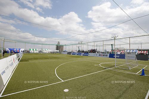 General view, MARCH 21 , 2016 - Football 5-a-side / Soccer : Saitama City Normalization CUP 2016 international friendly match between Japan 1-1 KOREA at Foot Messe Omiya, Saitama, Japan. (Photo by Yusuke Nakanishi/AFLO SPORT)
