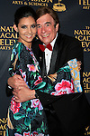 LOS ANGELES - APR 24: Camila Banus, David Michaels at The 42nd Daytime Creative Arts Emmy Awards Gala at the Universal Hilton Hotel on April 24, 2015 in Los Angeles, California
