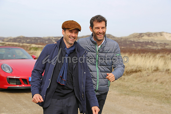 01 April 2017 - Sylt, Germany - Patrick Dempsey. Opening of Porsche branch on North German island Sylt. Photo Credit: Syltpress Barth/face to face/AdMedia