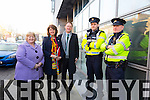 At the official opening of the Intreo office in Godfrey Place by Tánaiste, Joan Burton. Pictured Marie Maloney Joan Burton, Arthur J. Spring, Garda James Fairbrother and Jerry Ryall