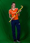 AMSTELVEEN- HOCKEY - SANNE KOOLEN.  lid van de trainingsgroep van het Nederlands dames hockeyteam. COPYRIGHT KOEN SUYK