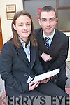 Brother and sister solicitors Margaret and Peter Malone who have opened a new office in Killarney