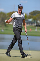Henrik Stenson (SWE) after sinking his putt on 6 during round 2 of the Arnold Palmer Invitational at Bay Hill Golf Club, Bay Hill, Florida. 3/8/2019.<br /> Picture: Golffile | Ken Murray<br /> <br /> <br /> All photo usage must carry mandatory copyright credit (&copy; Golffile | Ken Murray)