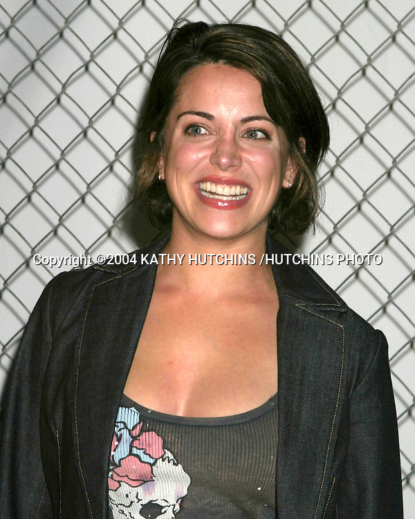 ©2004 KATHY HUTCHINS /HUTCHINS PHOTO.AMERICAN EAGLE OUTFITTERS PARTY.KICKOFF TO BACK TO SCHOOL.HOLLYWOOD, CA.AUGUST 24, 2004..ALANA UBACH