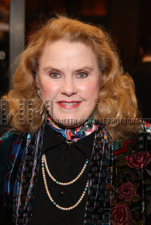"""Celia Weston attends the Broadway Opening Night Performance of """"John Lithgow: Stories by Heart"""" at the American Airlines Theatre on January 11, 2018 in New York City."""