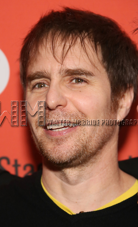 Sam Rockwell attends the Off-Broadway Opening Night performance of 'Man From Nebraska' at the Second StageTheatre on February 15, 2017 in New York City.
